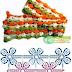 Patron Crochet Bufanda Florecillas