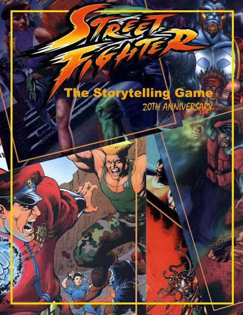 Street Fighter: The Storytelling Game 20th Anniversary Edition is Ready for Download