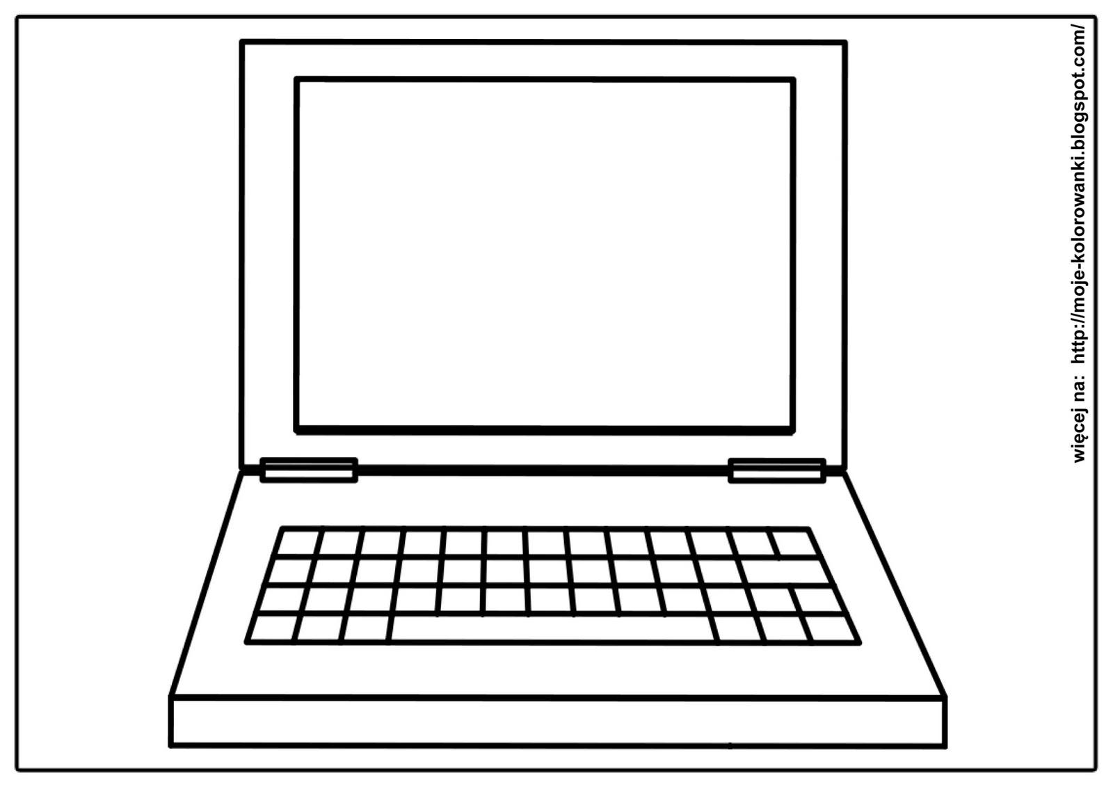 Kolorowanki Dla Dzieci Laptop