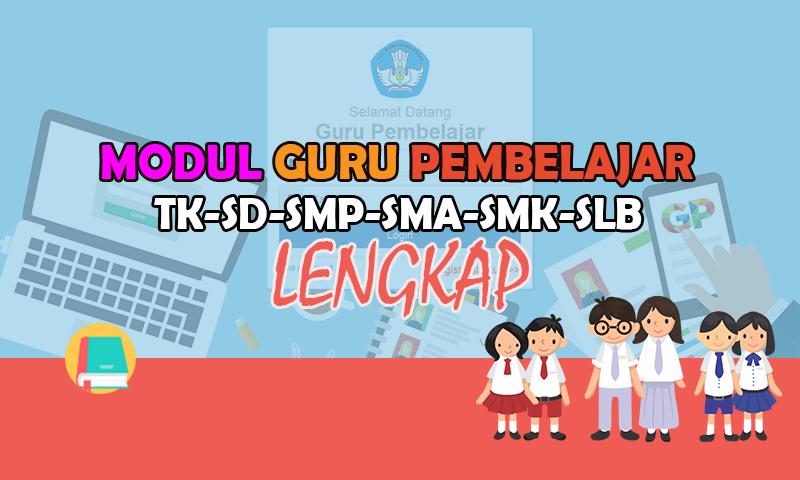 Modul Guru Pembelajar TK-PAUD, SD, SMP, SMA, SMK, SLB Download Lengkap 2016 Format PDF