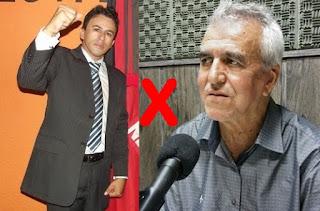 Vereador de Baraúna criticou severamente deputado licenciado Rubens Germano em programa de rádio