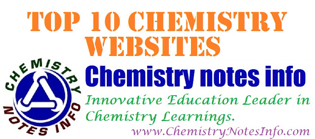 List of Top Ten Chemistry Websites