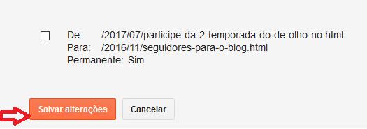 Redirecionamento 404