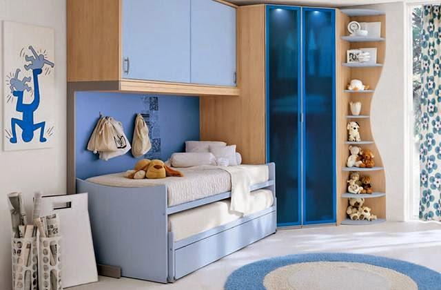 Camas infantiles para dormitorios peque os dormitorios - Camas ninos pequenos ...