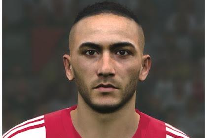 Hakim Ziyech Face (AFC Ajax) - PES 2017