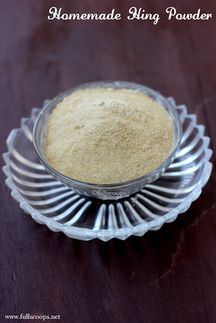 Homemade Asafoetida Powder
