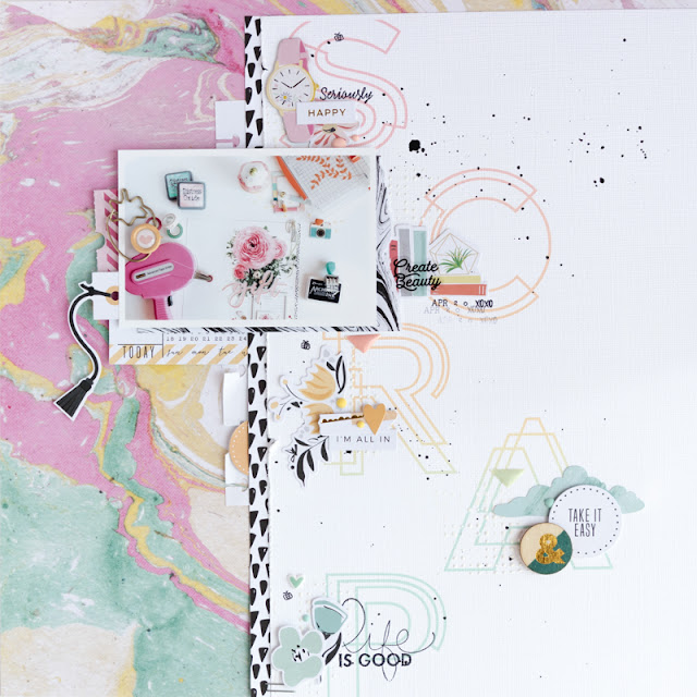 scrapbook layout SCRAP by kushi | www.kkushi.com