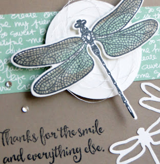 Stampin' Up! Rock 'N Roll Dragonfly Dreams Card ~ 2017 Occasions Catalog ~ www.juliedavison.com