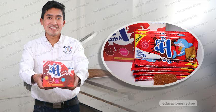 JULIO GARAY BARRIOS: Creador de galletas contra la anemia lanza nuevas Nutri H reforzadas con DHA - www.galletasnutrih.com