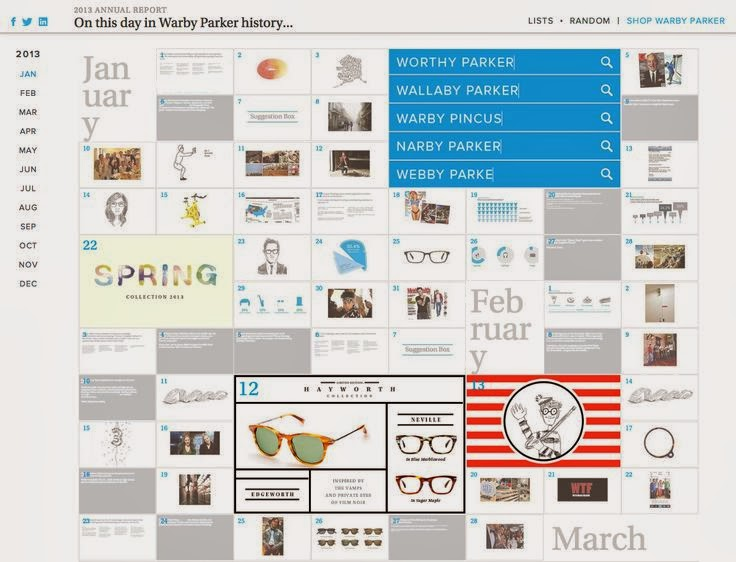 Warby Parker's 2013 annual report