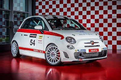 Abarth 595 OT 2016 Front Side