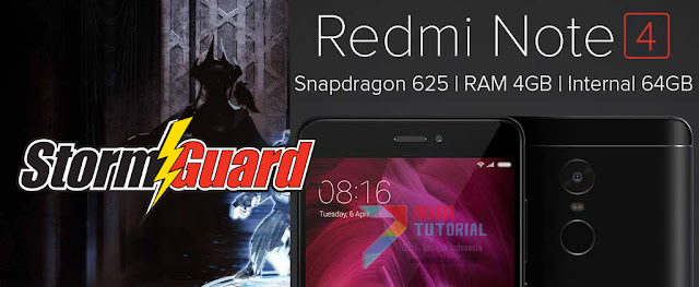 Xiaomi Redmi Note 4X/PRO Punya Custom Kernel? Perkenalkan StormGuard: Berikut Tutorial Cara Installnya