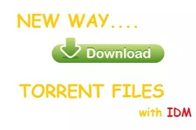 New way to download torrent files with idm
