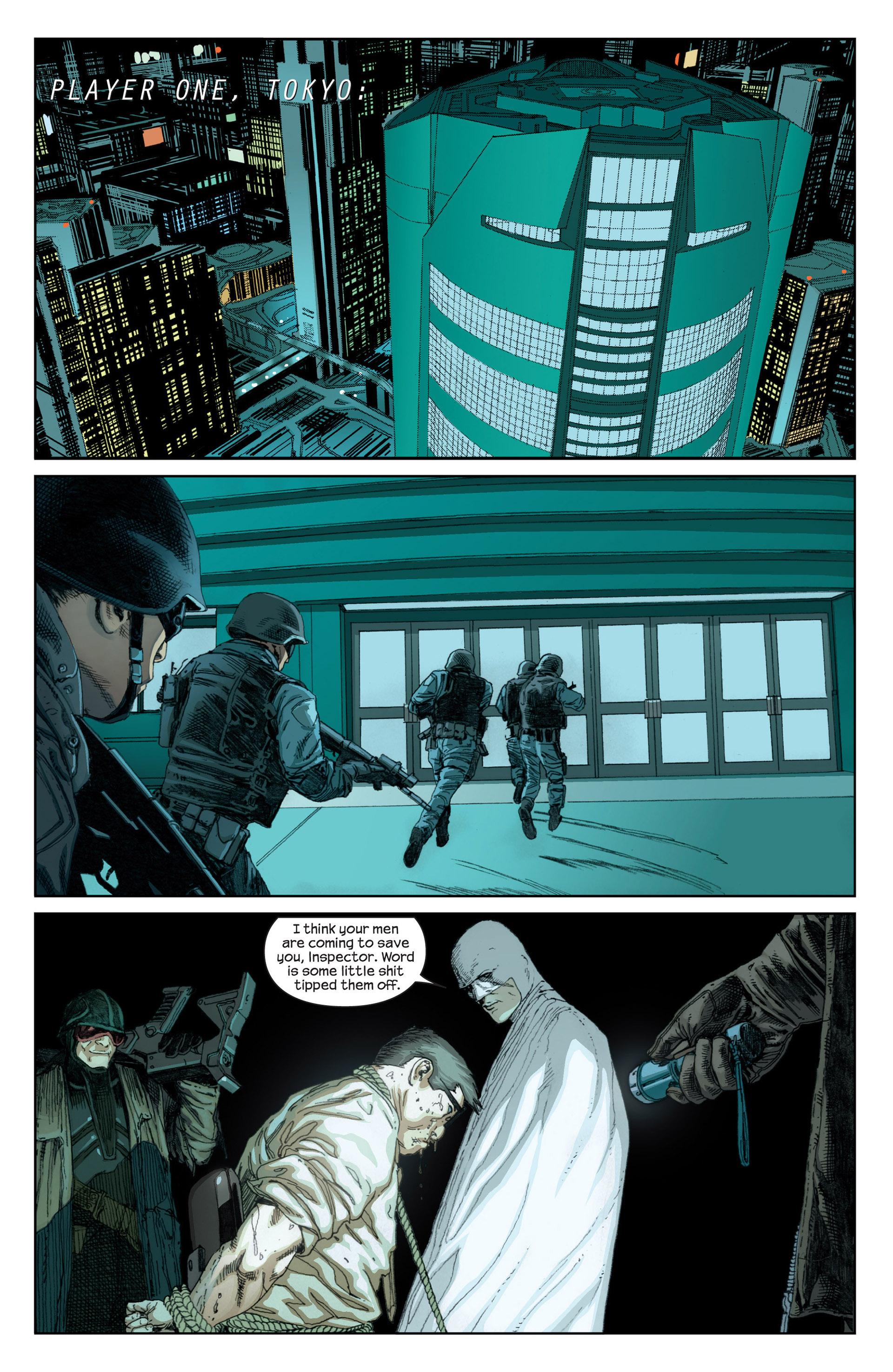 Read online Millar & McNiven's Nemesis comic -  Issue #1 - 4