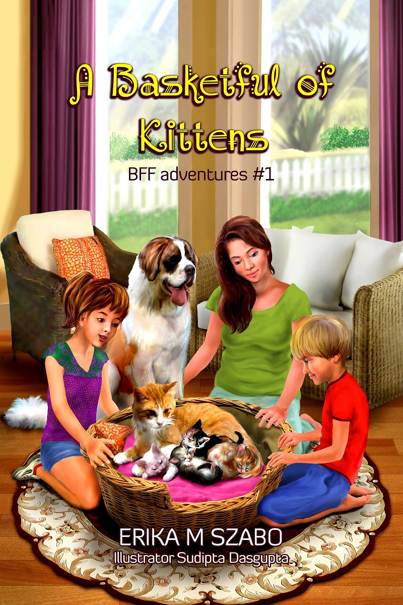 A Basketful of Kittens - Children's Book