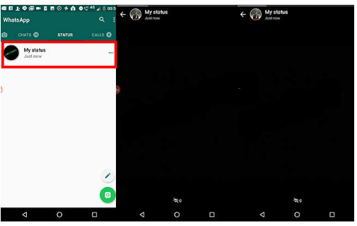 Begini Cara Membuat Status WhatsApp Berkedip Dan Warna Warni