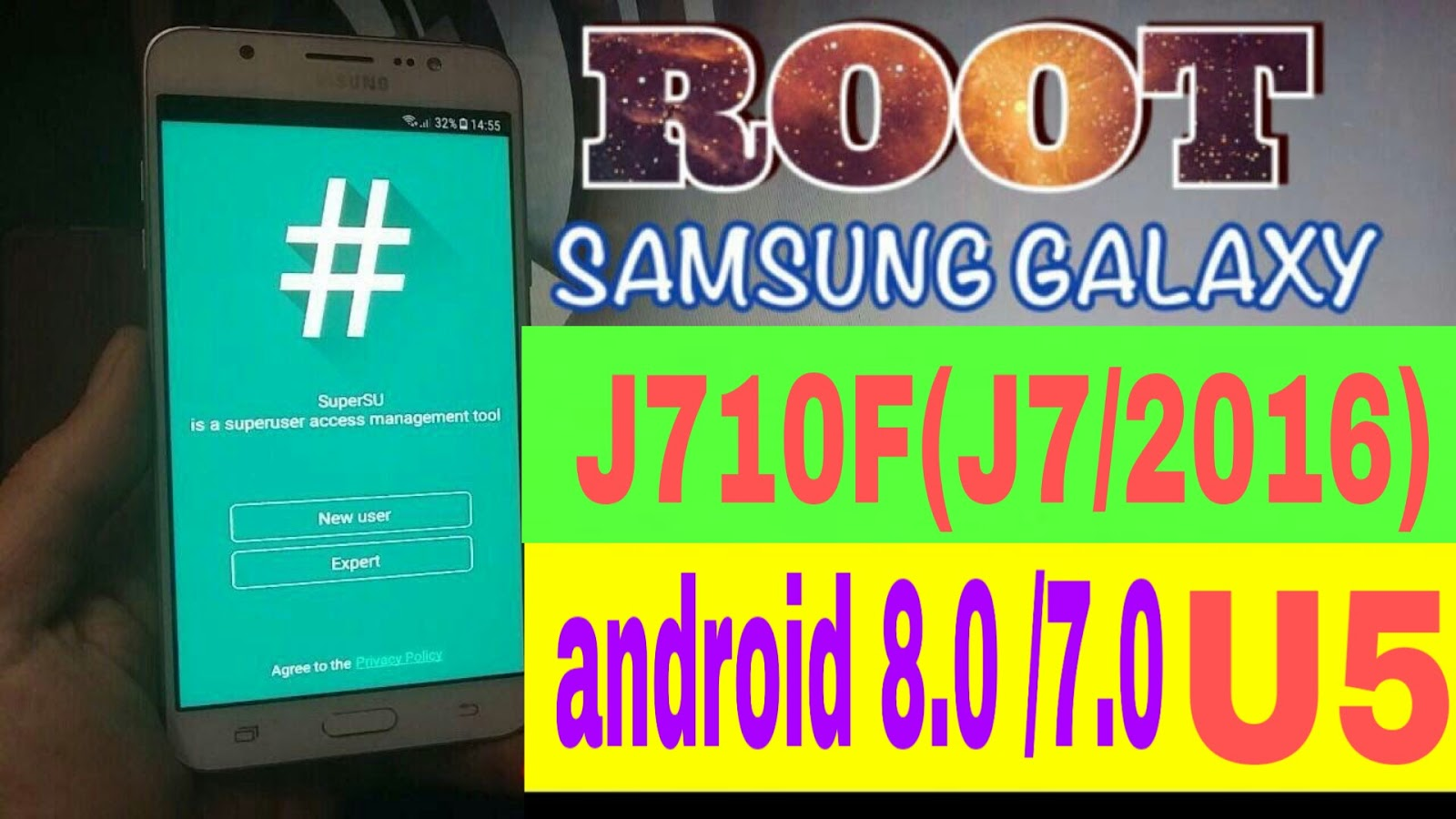 root j710f andriod 7 0/8 0 easy CF Auto Root 100% ok