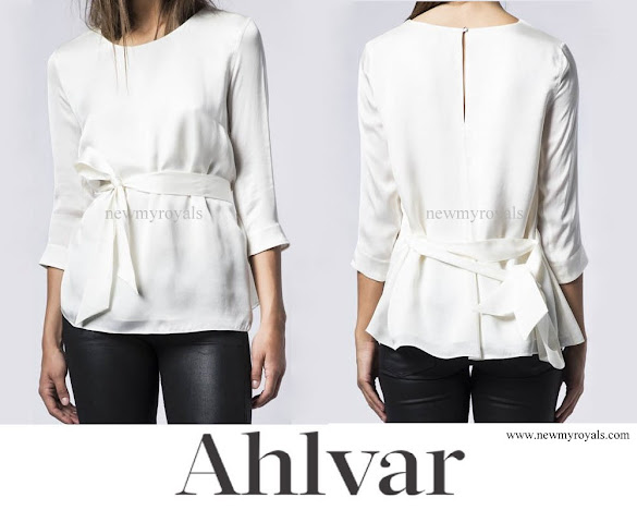 Princess Sofia wore AHLVAR Hisako Blouse