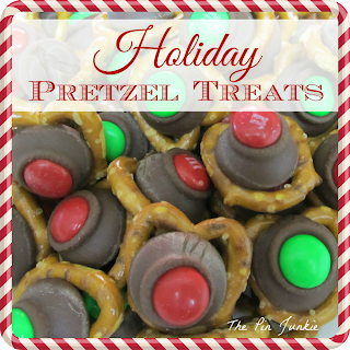 Christmas pretzel treats
