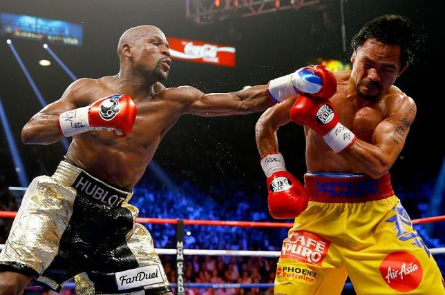 Floyd Mayweather announces he's coming out of retirement to fight Manny Pacquiao again this year