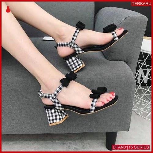 DFAN3115S76 Sepatu Hsn04 Hak Tahu Wanita Cantik Sepatu BMGShop