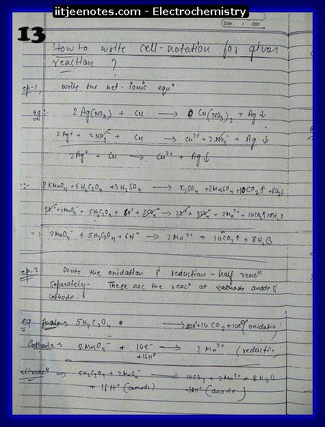 Electrochemistry 13