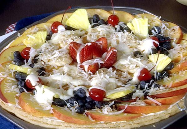 Cara Membuat Resep Pizza Buah Topping Manis