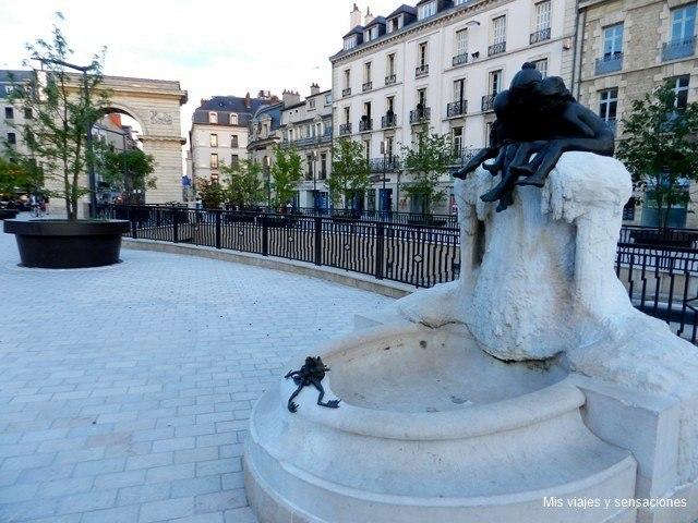 Plaza de Darcy, Dijon, Borgoña, Francia