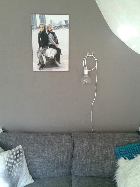 Uit Mijn Keukentje: DIY: Hanglamp wordt muurlamp (IKEA-hack)