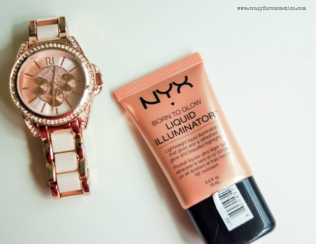 NYX Born to Glow Liquid Illuminator in the shade Gleam