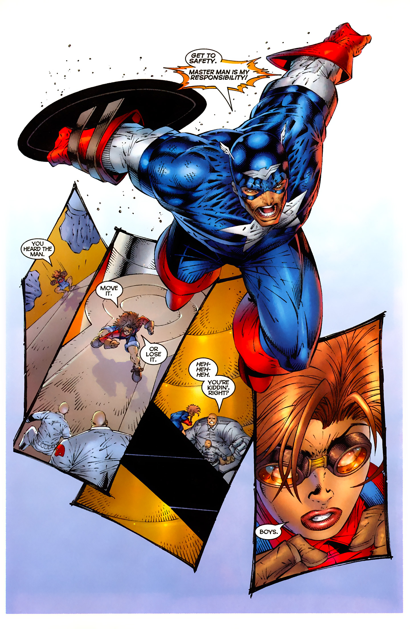 Captain America (1996) Issue #5 #5 - English 16