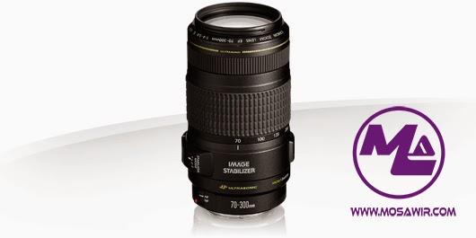 عدسة كانون: EF 70-300mm f/4-5.6 IS USM