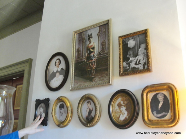 portraits of former residents at Laura Plantation in Vacherie, Louisiana