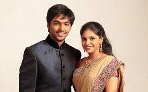 """GV Prakash Saindhavi"" 3rd Wedding Anniversary Celebration"
