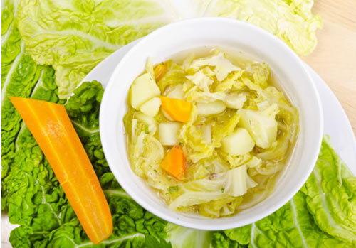 Súp bắp cải cà rốt