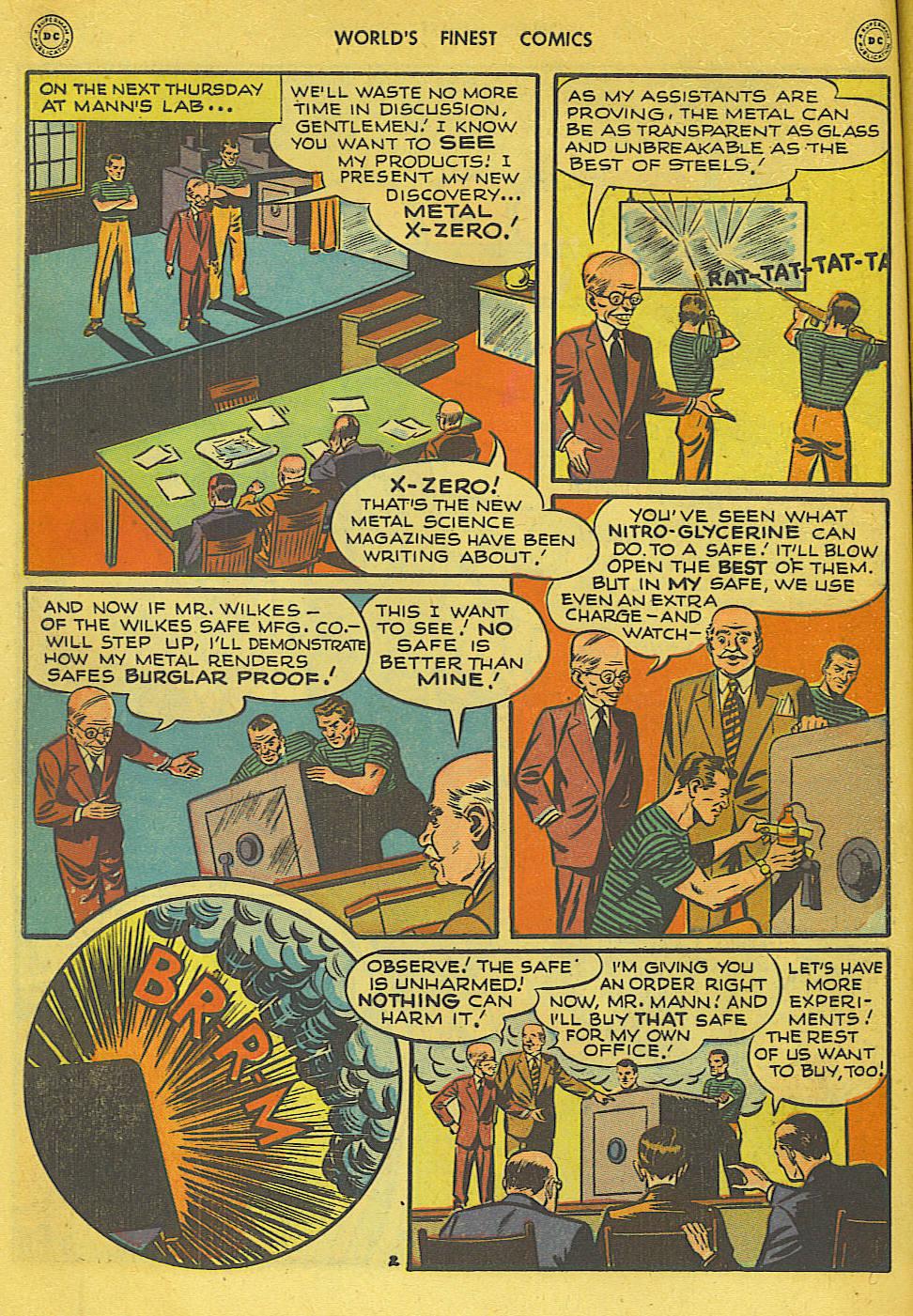 Read online World's Finest Comics comic -  Issue #34 - 42