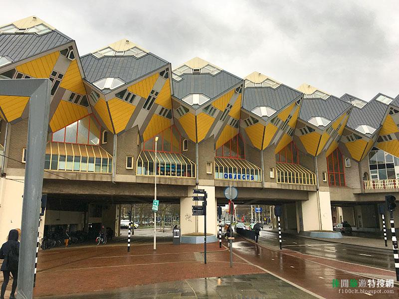 [荷蘭.鹿特丹] 來看看鹿特丹(Rotterdam)舊港區 怪怪建築大集合