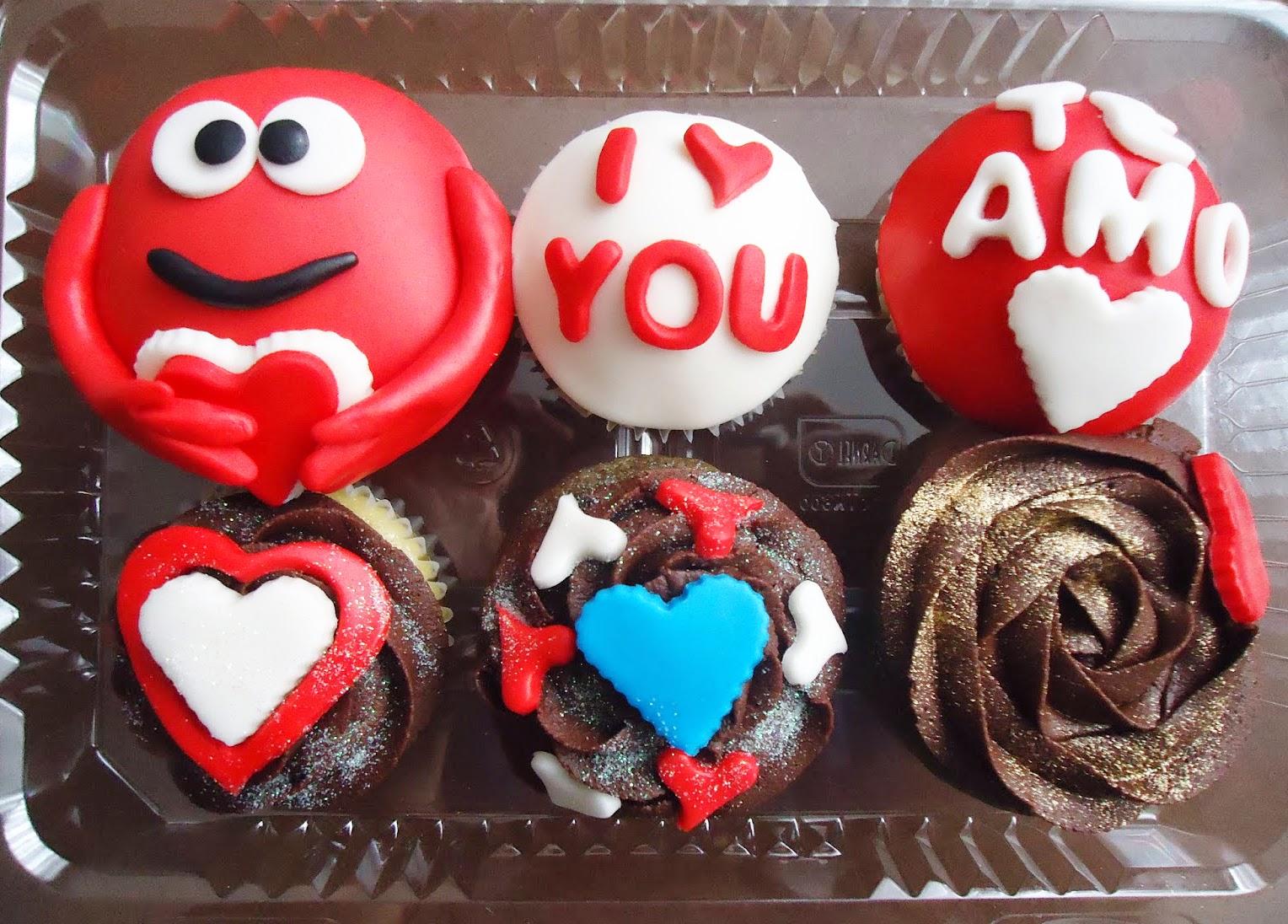 Los Desayunos De Gusto Cupcake Amor