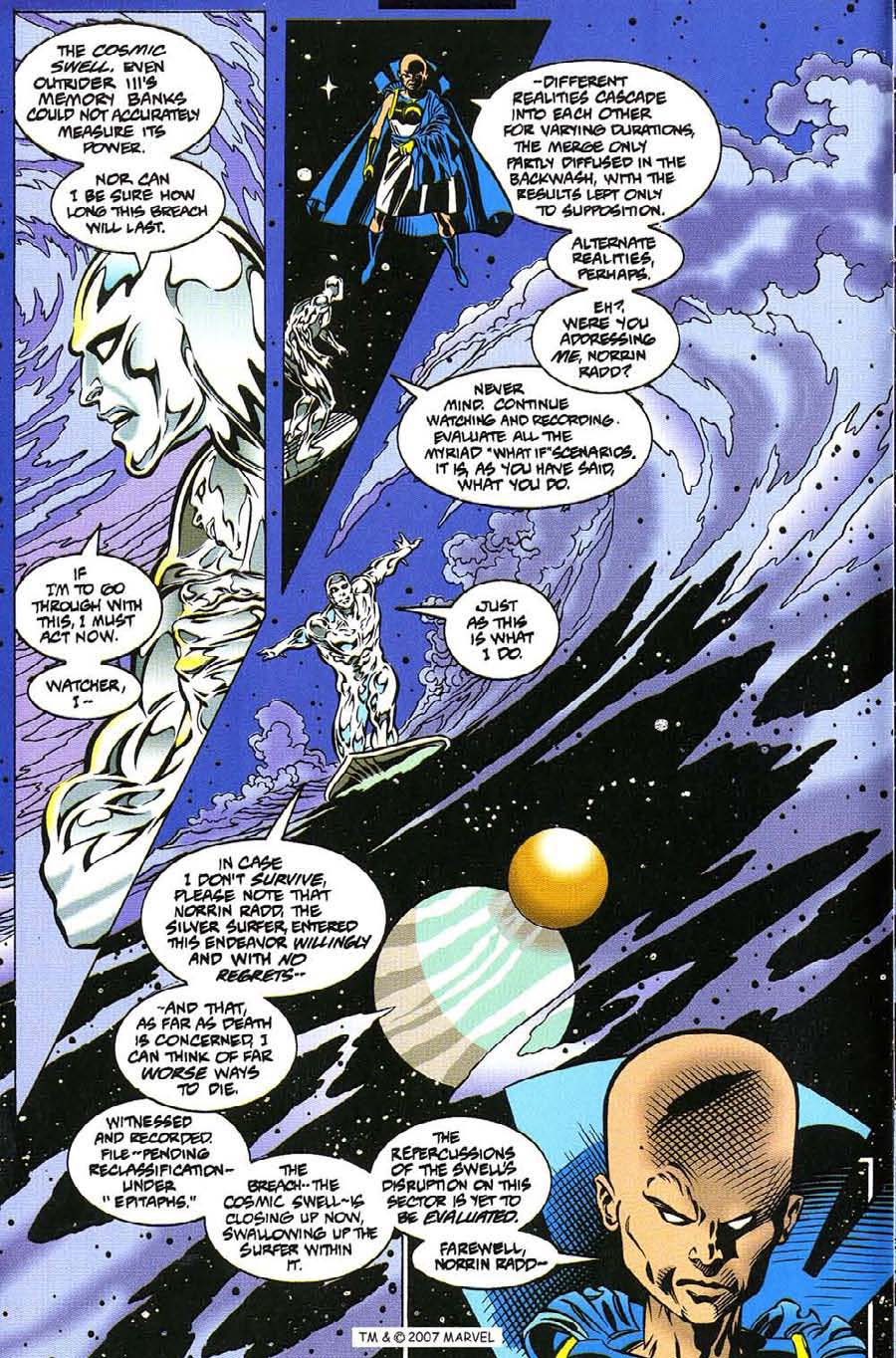 Silver Surfer (1987) Issue #112 #120 - English 8