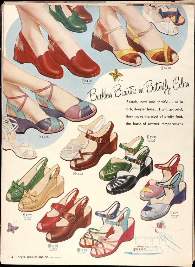 Forties Shoes Uk