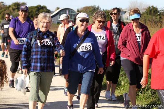 8km McDonald's Walk/run, from Haumoana to Clive, one of four events in The New Hawke's Bay Today Country2Coast. photograph