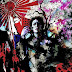 Interesante pintura japonesa.