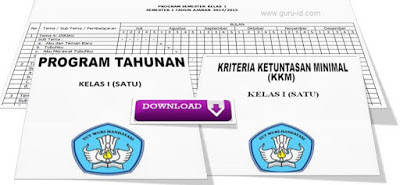 Program Tahunan dan Program Semester SD Kurikulum 2013