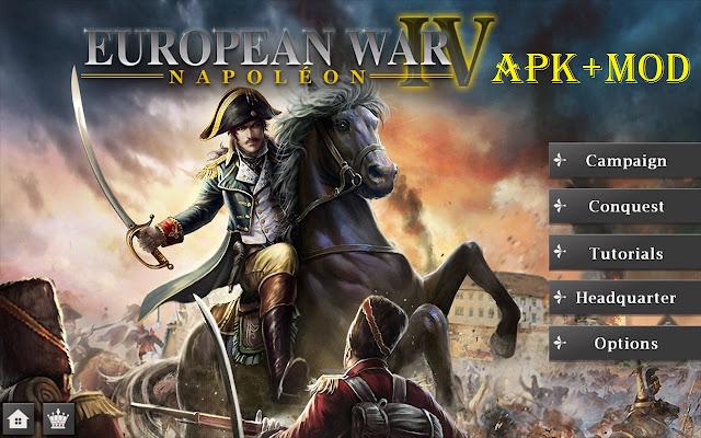 Download European War 4 Napoleon Mod APK