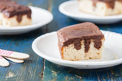 Chocolate Cardamom Poke Cake Recipe