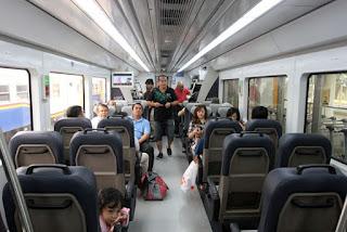 Angkutan/kendaraan umum di kota Medan - Kereta api railink Kualanamu