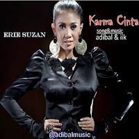Lirik Lagu Erie Suzan Karma Cinta