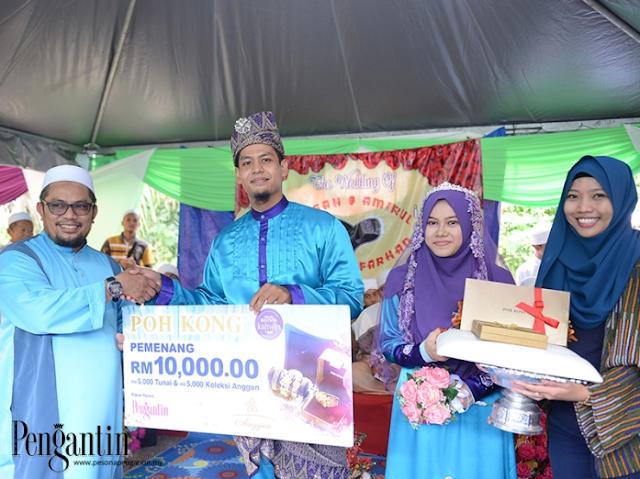 Rezeki Kahwin Ustazah KAFA Dapat RM10,000