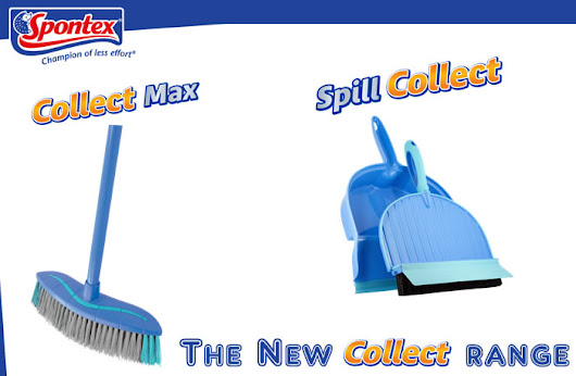 The New Collect Range from Spontex - Review and Giveaway