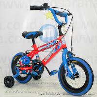 Sepeda Anak Wimcycle Big Daddy BMX 12 Inci